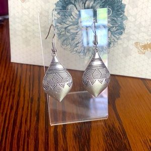 A pair of Bohemian earrings. They look awesome